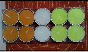 T-LIGHT CANDLES (Scented)