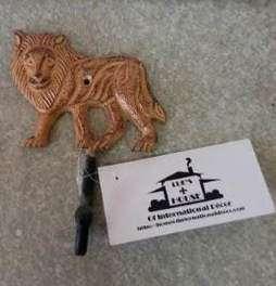 LION ALUMINUM WALL HOOK