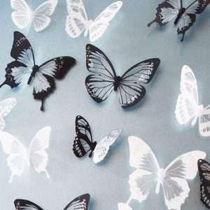 3D Butterflies Shaped Wall Stickers