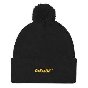 Pom Pom Knit Cap – DaRealLA™
