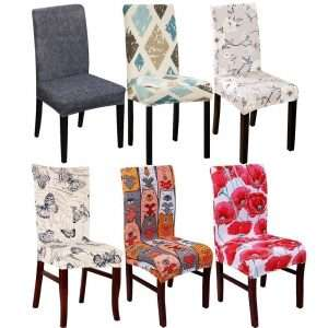 Patterned Dustproof Chair Covers