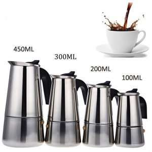 Ergonomic Stainless Steel Coffee Maker Pot