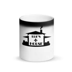 Matte Black Magic Lue's House Mug