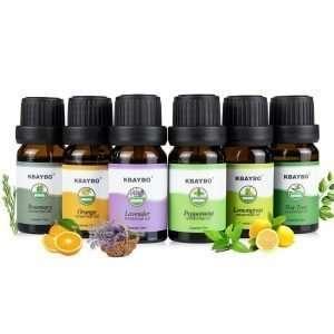 Aromatherapy Organic Essential Oils 6 pcs Set