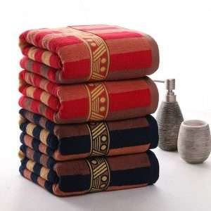 Long-Staple Cotton Bath Towels