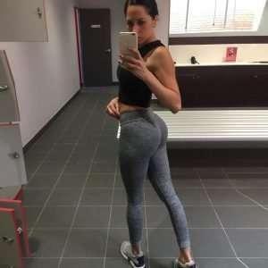 Women's Push Up Sport Elastic Leggings