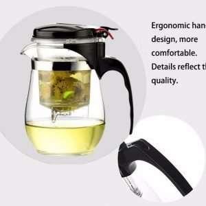 Heat Resistant Glass Teapot