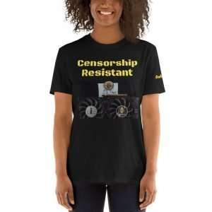 Short-Sleeve Unisex T-Shirt – Censorship Resistant