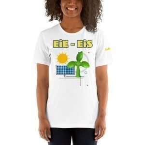 Everything Is Solar™ EiE – EiS Solar Short-Sleeve Unisex T-Shirt