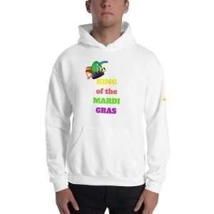 King of the Mardi Gras Unisex Hoodie