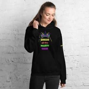 Queen of the Mardi Gras Unisex Hoodie