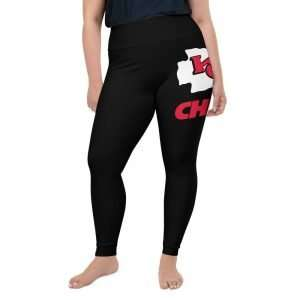 Lue's House™ Chiefs Kingdom All-Over Print Plus Size Leggings
